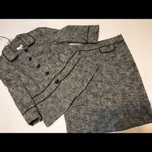 Ann Taylor Loft Skirt & Jacket tweed suit